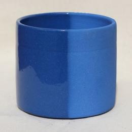 Ангоб синий с глазурью и без