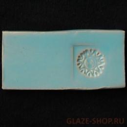 Глазурь для керамики голубая