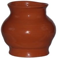 Глиняный горшок глазурь