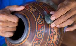 Лощение керамики