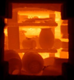 Обжиг глиняных изделий